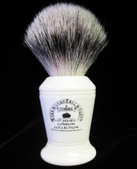 Mr.Cobbs silvertip shaving brush