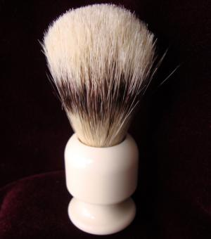 Ivory boar bristle brush