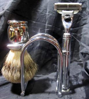 Marquis razor & brush set