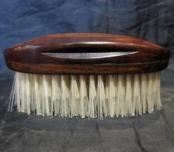 Rosewood hand-made travel brush