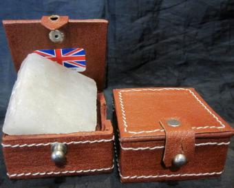 Alum in hide box