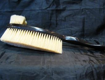 Ebony enormity clothes brush