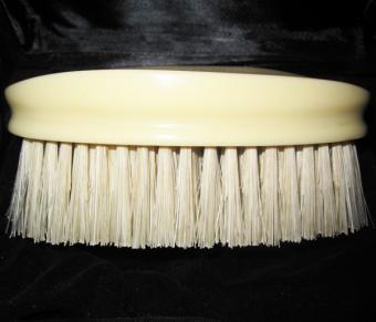 Faux ivory giant hair brush