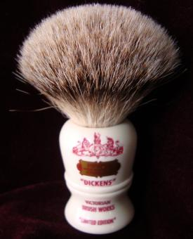 Dickens shaving brush