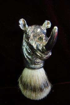 Clad silver big 5 Rhino