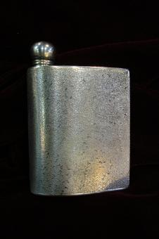 Tex pewter flask jb6ws