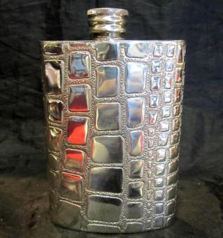 Croc pewter flaskjb9