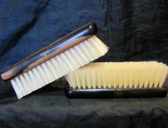 Ebony clothes brush