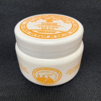 Almond shaving soap travel 125ml