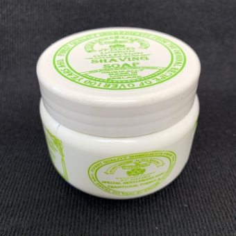 Lime shaving soap travel 125ml