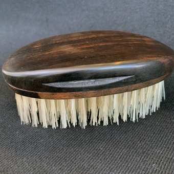 Ebony solid hand-drawn brush